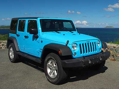 Saint John Jeep Rental